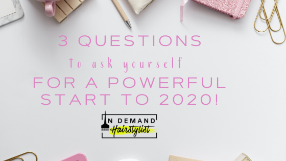 3 QUESTIONS to ask yourself for a POWERFUL START TO THE NEW YEAR!